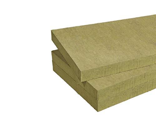 Futurazeta – Panel insonorizante de lana de roca de 50 mm de grosor (paquete de 7,20 m²) n° 10 paneles Acoustic 225 Plus térmico acústico