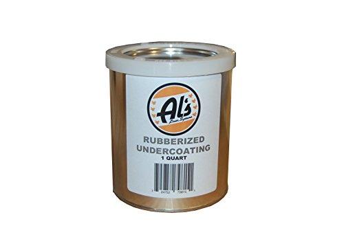 Al's Liner ALS-UCR Black Premium DIY Rubberized Undercoating.25 Gallon, 1 Pack