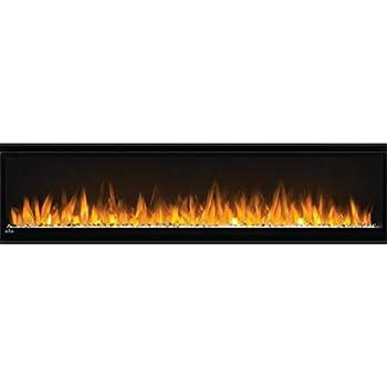 Napoleon Alluravision 60-NEFL60CHS-Slim Wall Hanging Electric Fireplace 60 Inch Slim Black
