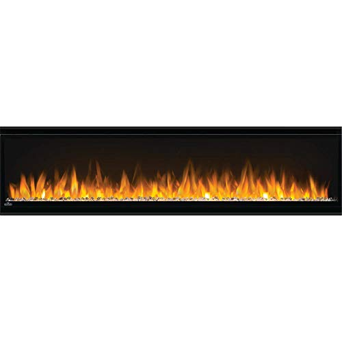 Napoleon Alluravision 60-NEFL60CHS-Slim Wall Hanging Electric Fireplace, 60 Inch Slim, Black Décor Dining electric Features Fireplaces Home Kitchen