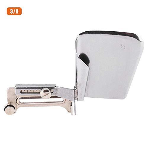 Naaimachine Hemmer, BiuZi 1Pc Metaal Industriële Naaimachine Verlengd Hemmer Gordijn Bed Sheet Folder Binder 3/8