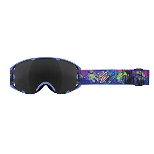 K2 Skis Skibrille Source, Blue Party/Blackout, One Size