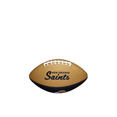 Wilson NFL Mini Team Retro Football-New Orleans