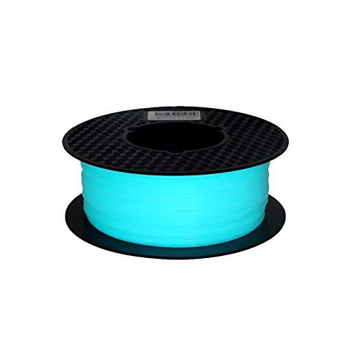 ZOBOLA Noctilucious 3D Imprimante 3D Filament PLA 1.75mm 500g Noctilucent 3D Matériau d'impression Glow dans Le Filament de PLA Sombre pour l'imprimante 3D et Le Stylo d'impression 3D