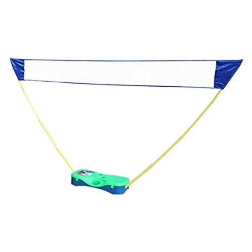 Netten vouwen Tennis Stand Badminton Rack Draagbare vouwen Badminton Badminton Rack binnen en buiten Eenvoudige plank