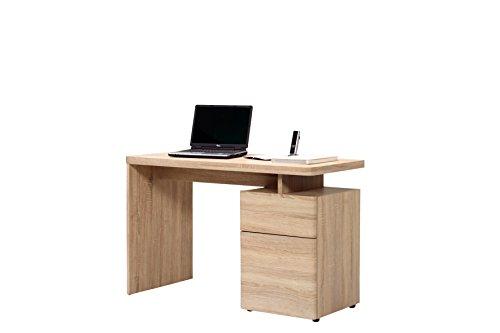 Jahnke Schreibtisch, Eiche sägerau-nachbildung, 120 x 55 x 76 cm