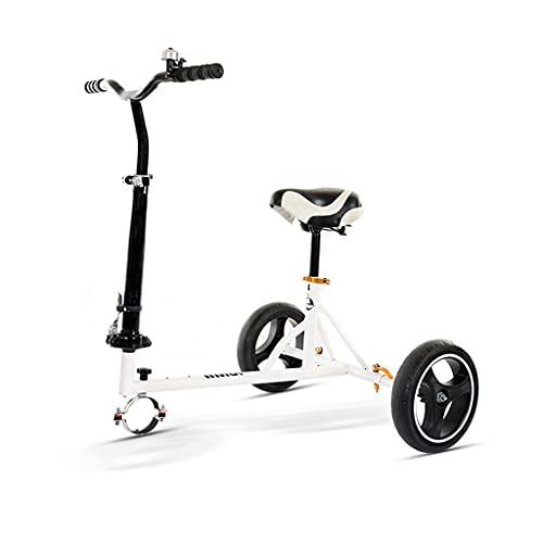 Clamps Hoverboard Go Kart Hoverboard Seat - Kit de conversión, longitud ajustable, asiento para manillar Go Kart eléctrico