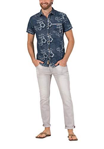 Timezone Herren Slim ScottTZ Skinny Jeans, Grau (Silver Grey wash 8646), W36/L32