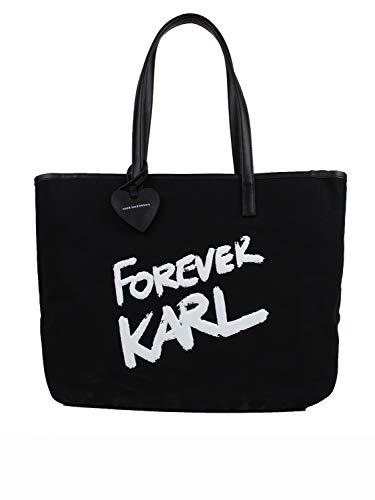 KARL LAGERFELD Bolso mujer 206W3198 negro negro Talla única