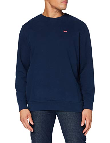 Levi's Herren Big Original Hm Crew Sweatshirt, Dress Blues, 5X-Large