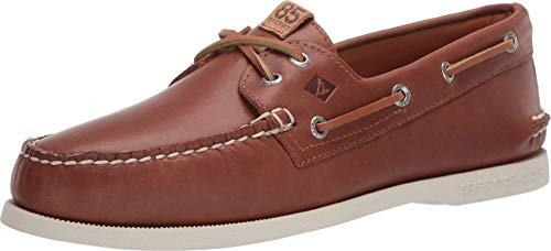 Sperry Authentic Original 2-Eye 85th Anniversary Tan/White 10.5
