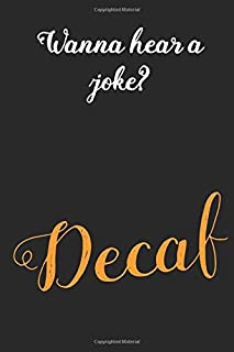 Decaf: Coffee Book, Coffee Journal, Coffee Logbook, Coffee Notebook, Pour over book, Pour over journal, Pour over log, Pour Over Notebook
