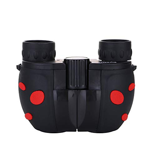Binoculars for Kids Adults For 3-12 Years 8x22 High-Resolution Real Optics Mini Compact Binocular Shockproof Portable Telescope for Outdoor Exploration Travel Camping Best Gifts for Boys Girls