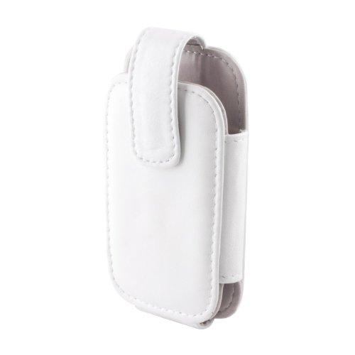 Funda de cuero diseño de cristal con cinta, fijación al cinturón del...