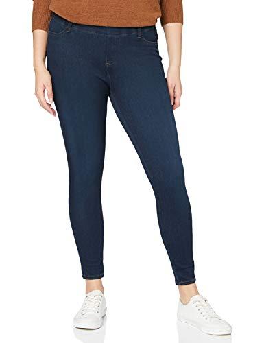 Spanx Damen Distressed Skinny Jean Leggins Baselayer-Hose, Vintage Black, S