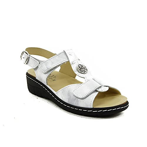 Belvida - Sandalen für: Damen, Beige - Himmel - Größe: 41 EU