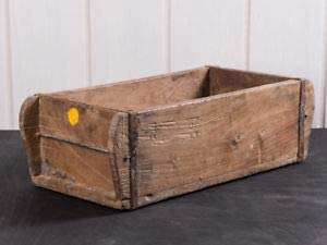 Jellinghaus Ziegelform Holz Aufbewahrung-Box Unika 1-Fach, 3-Fach, Doppelt (1-Fach 31x15x9,5cm)