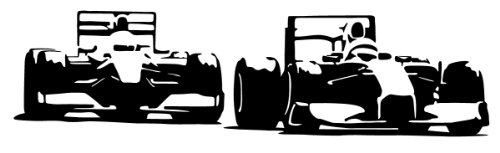 PrimeStick Muurtattoo Muursticker racewagen Formule 1#97 grootte selecteerbaar vanaf 20,- EUR