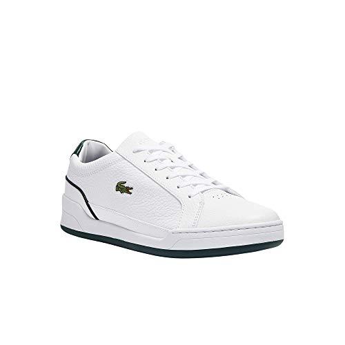 Lacoste Challenge 0721 1 SMA Zapatillas bajas para hombre, color Blanco, talla 42 EU