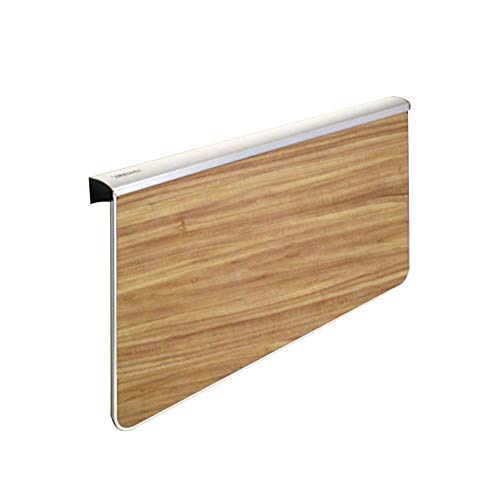 Wall-Mounted Desk Laptop Stand Collapsible Wall Desk,Wall Table Kitchen Countertop Dining Table,Multi-Colour Optional Optional Multi-Size Optional, Yue QiSong, Wood Grain, 1000x580MM