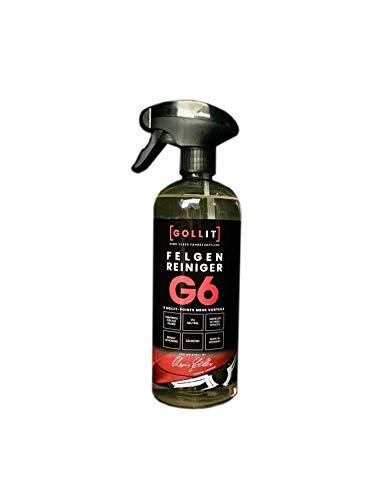 GOLLIT Felgenreiniger 750ml mit Wirkindikator, ph-neutral - säurefrei. - Reinigt schnell und effektiv. - Made IN Germany