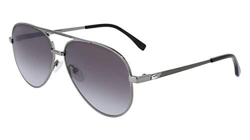 Lacoste L233S-024 Gafas, Dark Grey, 60/14/140 Unisex Adulto
