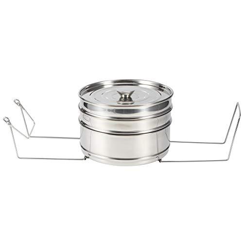 Vaporera de alimentos, cesta de vaporera, accesorios de olla a presión apilables, para arroz, hogar, cocina, verduras