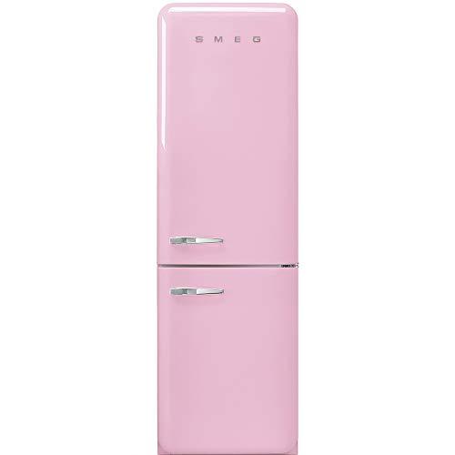 Smeg FAB32RPK3 nevera y congelador Independiente Rosa 331 L A+++ - Frigorífico (331 L, SN-T, 5 kg/24h, A+++, Compartimiento de zona fresca, Rosa)