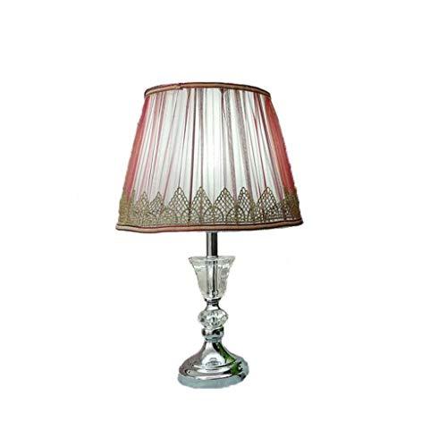 LHQ-HQ Tabla lámpara de habitación es Sencilla y Moderna lámpara de Mesa de Cristal Ojo Sala de Mesa de Cristal Cama de los niños Que Viven Dormitorio de la lámpara