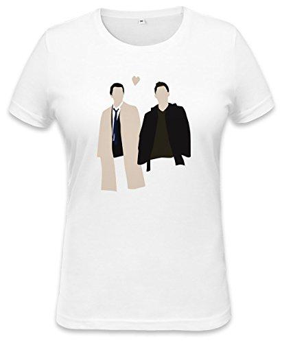 Destiel Is Real Womens T-shirt Small