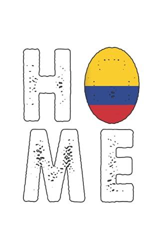 nativa de Colombia: Din A5 regalo portátil British Colombia con 120 páginas