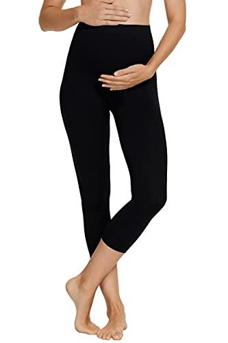 Bonds Maternity Cropped Legging, Medium/Large, Black