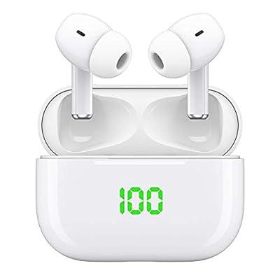 AceScreen Bluetooth Headphones, Wireless earbuds, V5.1 Wireless Earphones,Waterproof HiFi Stereo Bluetooth Earphones Earbuds, In-Ear Headset Built-in Mics with Charging Case from Acescreen