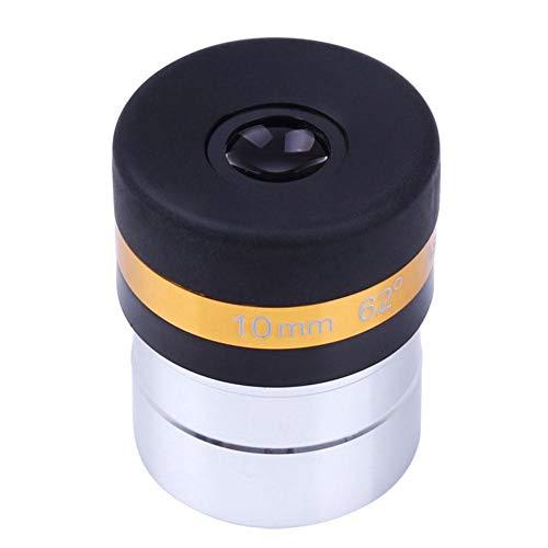 Okulare 1,27 cm astronomisch oculair 62 graden HD asferentelescoop accessoires, telescopische lens 4/10/23 mm groothoek 62 graden asferische ocular HD voor 1,25 inch / 31,7 mm astronomische telescoop, 62 ° 10 mm