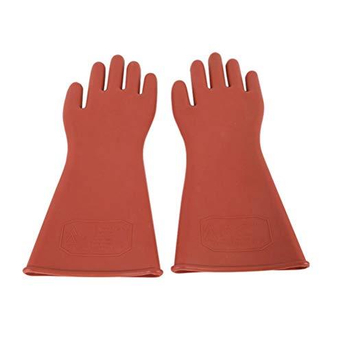 Elektriker Isolierte Handschuhe, Kautschuk Verdickung 12kv Schutzhandschuhe
