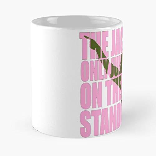 Fan Jump Hozier Protest Music Art Military Jackboot Boot The best 11oz White marble ceramic coffee mug