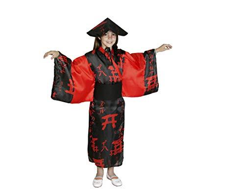 Disfraz de China para niña de 7 a 9 años