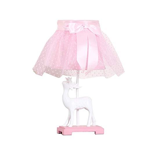 Cabecera de la habitación contador de la lámpara interruptor de botón contemporáneo dormitorio mesita de noche dormitorio de la lámpara lámpara de mesa lámpara de cabecera de la princesa de los niños