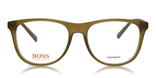 BOSS ORANGE BO-0218-EZE-17-52-17-140 Hugo Orange Sonnenbrille BO-0218-EZE-17-52-17-140 Oval Sonnenbrille 52, Grün