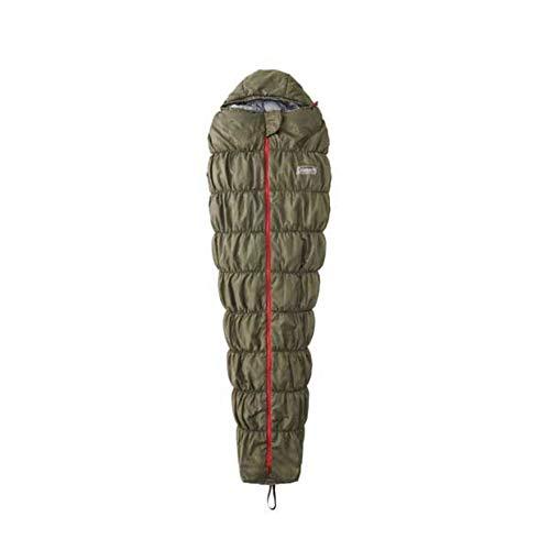 コールマン(コールマン) 寝袋 シュラフ寝具 コンパクト 折りたたみ 軽量 キャンプ用品 コルネットストレッチ2 L0 2000031104 カーキ (FF/Men's、Lady's)