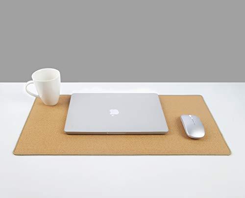 "YSAGi Multifunctional Office Writing Cork Desk Pad, Waterproof & Slipproof Desk Protector Mat for Office/Home (23.6""x11.8"") Photo #2"