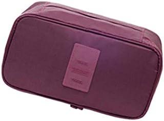 Vokmon Women Girls Packing Organizer Bra Underwear Storage Bag Travel Lingerie Pouch Toiletry Organizer Waterproof