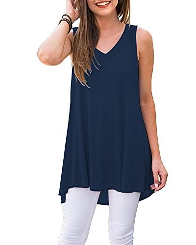 La mejor comparación de Camisetas sin mangas para Mujer para comprar online. 2