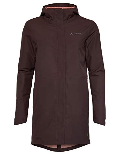 VAUDE Damen Women's Cyclist Padded Parka II Jacke, Pecan Brown, 40