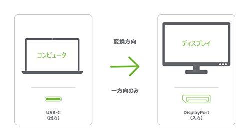 31Ae1jus+uL - USB Type-CとDisplay portを接続するケーブル