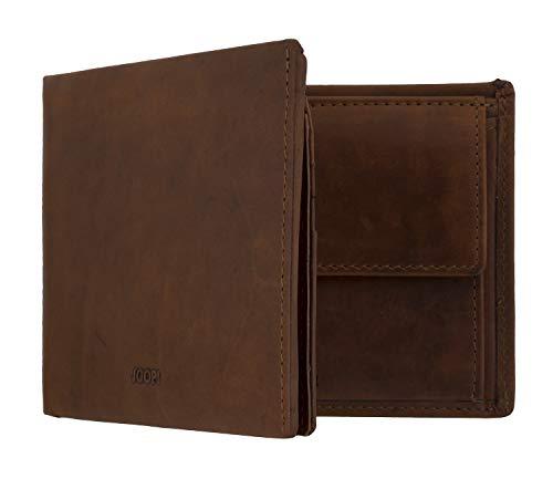 Joop! Herren Geldbeutel Portemonnaie Geldbörse LORETO mit RFID-Chip Schutz Braun 7674