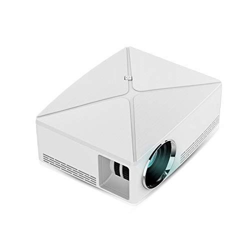 CYONGYOU Mini proyector LED 1280x720 portátil HD HDMI 3D videoproyector