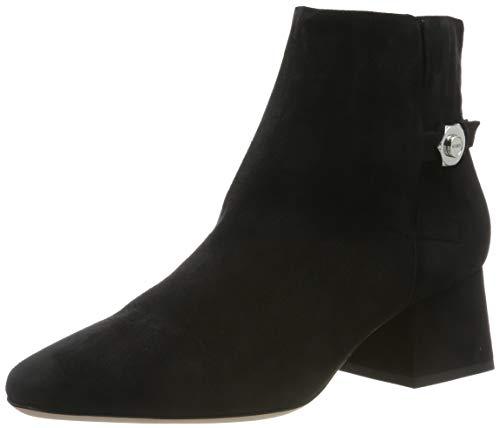 HUGO Uptown Bootie55-S, Damen Stiefeletten, Schwarz (Black 001), 36 EU (3.5 UK)