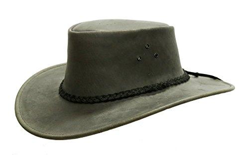 Kakadu Traders Australia -  Cappello da Cowboy - Uomo Nero XX-Large