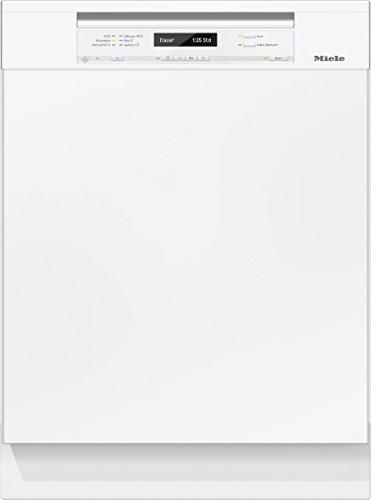 Miele G6300 SCU D BW230 2,1 EcoLine Geschirrspüler Unterbau / A+++ /  Brillant weiß / 237 kWh / Jahr / 2716 Liter / Jahr / 14 MGD / Energieeffizienz / Frischwasserspüler ab 6.5 Liter Wasserverbrauch